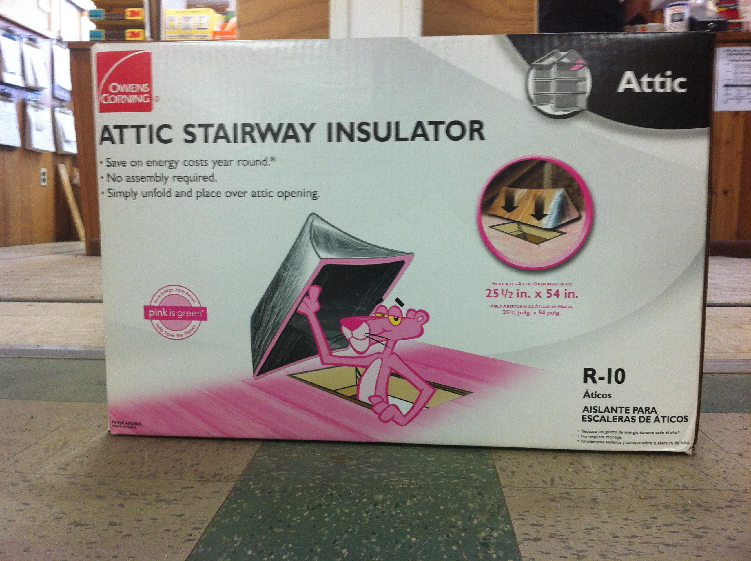 Elegant Attic Insulator