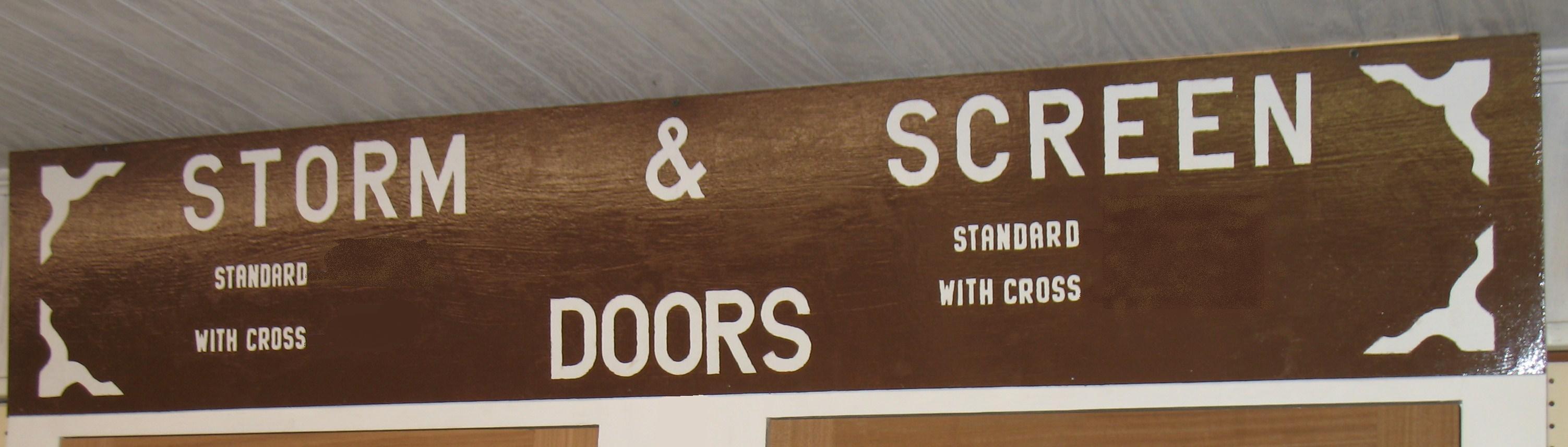 Cape May Lumber Storm Screen Doors